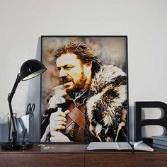 Eddard Stark  Winter is Coming  Ned Stark  Game of by BlackSailsUK