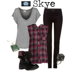 """""""Skye - Agents of Shield"""" by marybethschultz on Polyvore"""