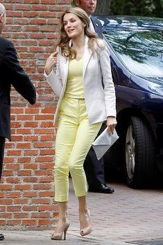 Princess Letizia of Spain 6/18/13