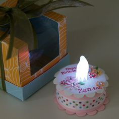 tealight cake by keiyama99 - Cards and Paper Crafts at Splitcoaststampers