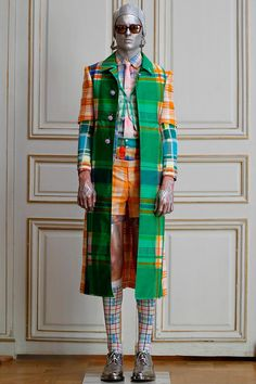 hello colour and plaid explosion!  /// Thom Browne Spring/Summer 2013  #fashion #menswear