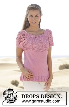 Ravelry: 155-3 Desert Rose pattern by DROPS design