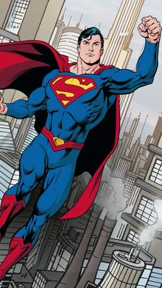 The story about a mild-mannered reporter for the Daily Planet is really the greatest superhero of them all who fights a never-ending battle for truth, and justice. Superman Comic, Mundo Superman, Superman Artwork, Superman Wallpaper, Superman News, Superman Family, Superman Logo, Marvel Dc Comics, Dc Comics Art