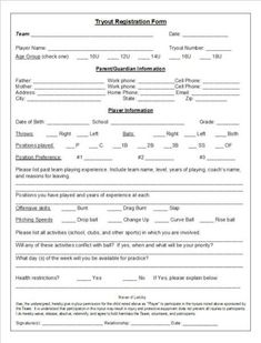 Busy BS Preschool Registration Form  Lbl