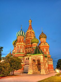 Saint Basilica Cathedral Moscow, Russia  by Pola Damonte