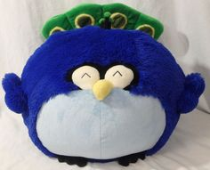 "Squishable Peackock Large 15"" Soft Squishy RETIRED Plush Stuffed Animal Gorgeous #Squishable"
