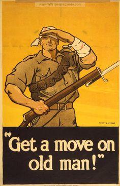 Examples of Propaganda from WW1 | Australian WW1 Propaganda Posters Page 3