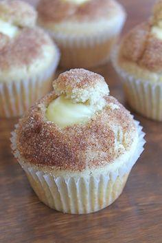 Doughnut Muffin with Vanilla Pastry Cream