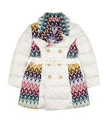 Missoni Girls Reversible Puffa Coat
