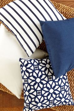 Yacht Club Toss Pillow
