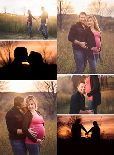 Maternity photography session