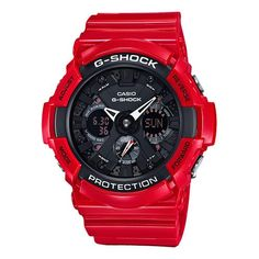G-Shock Others Series GA201RD-4A Red Case Watch