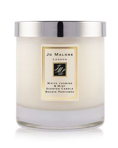 White Jasmine & Mint Home Candle, 7 oz. by Jo Malone London at Neiman Marcus.
