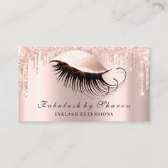 Makeup Artist Eyes Lashes Glitter Drips Rose Lux Business Card The post Makeup Artist Eyes Lashes Glitter Drips Rose Lux Business Card Zazzlecom appeared first on Woman Casual - Makeup Recipes Black Makeup Artist, Makeup Artist Logo, Beauty Business Cards, Simple Business Cards, Business Ideas, Casual Makeup, Lashes Logo, Eyelash Serum, Glitter Roses