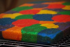 My story in recipes: Rainbow Cake