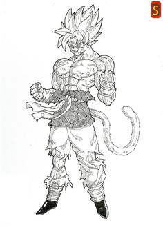 Goku GT By Bloodspl4shdeviantart On DeviantArt
