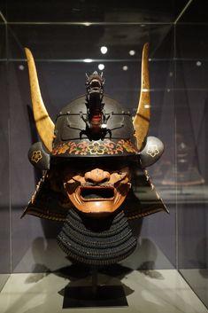 Japanese Mask, Japanese Warrior, Samurai Helmet, Samurai Warrior, Guerrero Tattoo, Geisha, Armadura Cosplay, Samurai Artwork, Cool Masks