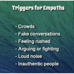 "🌱Though this may describe most people. It's especially true for empaths who are the term for people who are more sensitive & Pick up energy…"" Empath Traits, Intuitive Empath, Highly Sensitive Person, Sensitive People, Nicola Tesla, Empath Abilities, Psychic Abilities, Infj Personality, E Mc2"