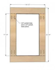 DIY Kitchen cabinet doors?  sc 1 st  Pinterest & How to Build a Cabinet Door | cabinet construction | Pinterest ...