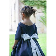 Claire 3/4 length sleeves flower girl dress for winter wedding of fall wedding by French designer Little Eglanitine Winter Flower Girl, Winter Flowers, Blue Wedding, Fall Wedding, Wedding Ideas, Designer Flower Girl Dresses, Annabelle Dress, Charlotte Dress, Bridesmaid Flowers