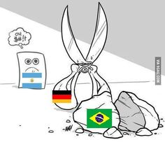 How it feels to be in WC-Final #worldcup #wm2014 #final