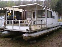 Pics Photos - Homemade Pontoon Houseboat