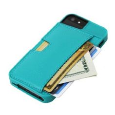 CM4 iPhone Wallet Q Card Case for Apple iPhone 4/4S (Pacific Green): Amazon.ca: Electronics