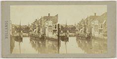 anoniem | Vue prise a Dordrecht, possibly Henri Plaut, before 1858 |
