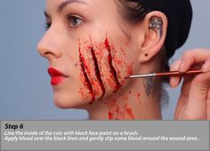 Deadly Red Riding Hood - Makeup Tutorial