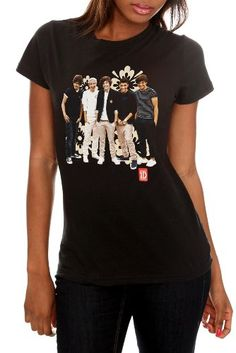 BESTSELLER! One Direction Flower Girls T-Shirt $20.50