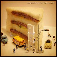 . 3.13 tue -Sandwich- . 数字の3(サン)が1(イチ)を挟んでいることから サンドイッチデーらしいです。 . 冗談でなく、ほんとですよ。 .
