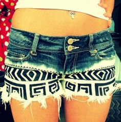 cutest pair of shorts EVER