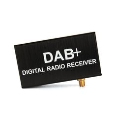 Pumpkin External DAB Add DAB + Digital Radio Box with Touch Control For Android Car DVD