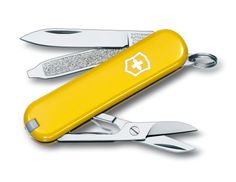 Classic Swiss Army Knife in Yellow