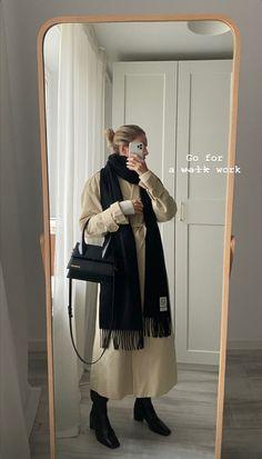 Cozy Fashion, Minimal Fashion, Timeless Fashion, Fashion Outfits, Cold Weather Outfits, Fall Winter Outfits, Autumn Winter Fashion, Mode Streetwear, Streetwear Fashion