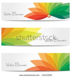 This banner was made with a range of warm to cooler colours. It uses a strong sense of shape with overlapping translucent leaf like prongs. It is a digital piece work.