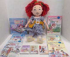 Madame Alexander Doll Fancy Nancy Oh La La Beauty School with 9 Books Easy Read | eBay