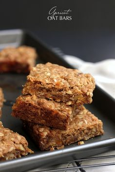APRICOT OAT BARS - Savor Home (bottom batter/filling of jam & dried/top batter) Same recipe as Giada De-laurentiis @ link below: http://www.foodnetwork.com/recipes/giada-de-laurentiis/apricot-oat-bars-recipe.html
