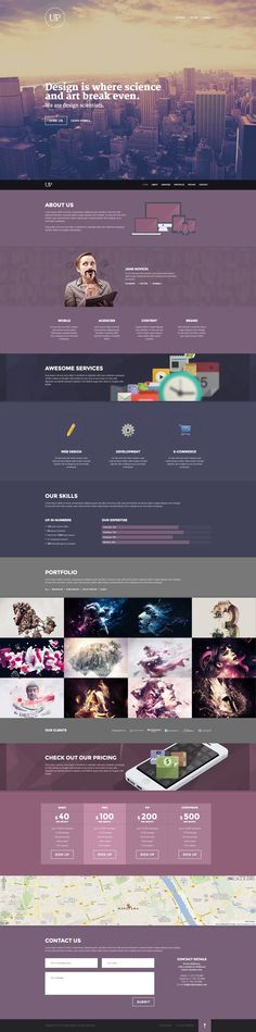 Cool Web Design on the Internet, UP. #webdesign #webdevelopment #website @ http://www.pinterest.com/alfredchong/web-design/