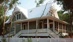 Spartina Cottage - SL999 - 2032 SF - An Exclusive Design for Southern Living by George Graves, AIA