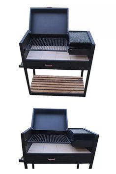 carbon movil parrilla Custom Bbq Pits, Diy Grill, Backyard Landscaping, Home And Living, Barbecue, Design, Madeira, Log Projects, Ideas