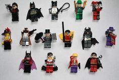 Batman Minifigure Superhero Joker Penguin Harley Quinn Mini Figure Fits Lego ® Comic Book Superheroes, Comic Books, Lego Dc, Brick, Harley Quinn, Penguin, Batman Superhero, Comics, Toys