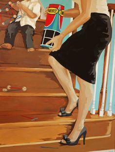 """Picking Up"" by Leslie Graff"