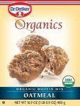 Oetker Organics Muffin Mix, Oatmeal, Boxes (Pack of Organic Baking Soda, Organic Grass Fed Beef, Simply Organic, Muffin Mix, Oatmeal Muffins, Fresh Market, Baking Flour, Baking Supplies, Baking Ingredients
