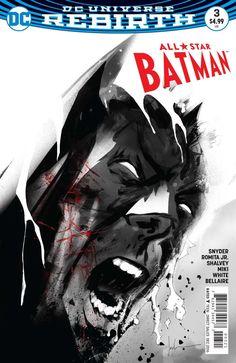 DC Comics - All Star Batman (2016) #3 - Jock Variant