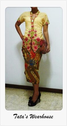 Kebaya encim and Batik Motif Demakan