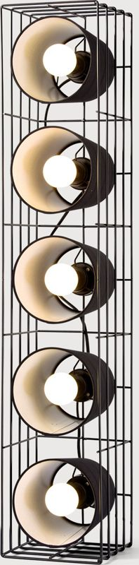Ozzy Floor Lamp, Black from Made.com. Express delivery. From rockstars to popstars, Ozzy takes the lead when it comes to cool lighting. Original in ..