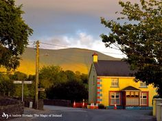 Galbally, Co.Limerick, It is located at the foot of the Galtee Mountains and at the western approach to the Glen of Aherlow.