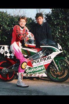 Valentino Rossi, 1993, primo anno di #Gp con Guidino Mancini e la Sandroni #ValentinoRossi #VR46