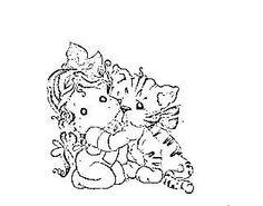 tilda with daisy mae the tiger
